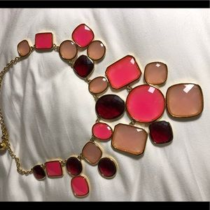 Kate Space bright pink necklace